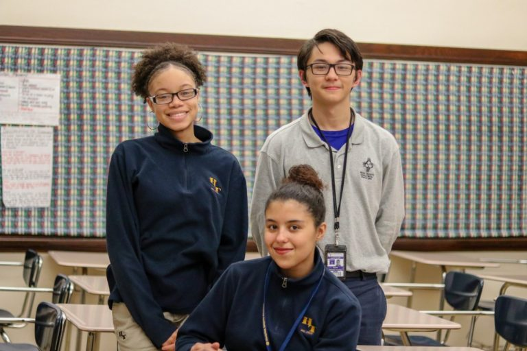 Small But Mighty: HT's Debate Team