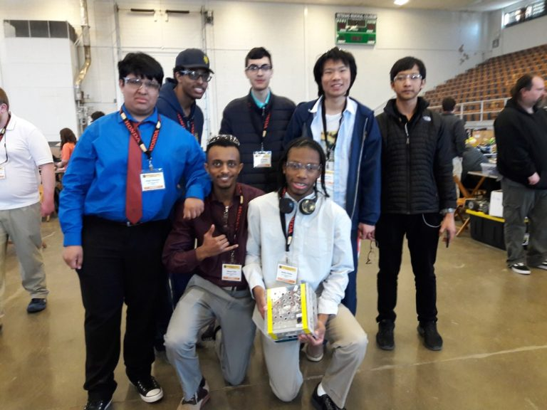 Robotics Brings Home Silver
