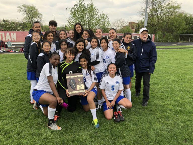 Girls' Soccer Wins Regional Championship