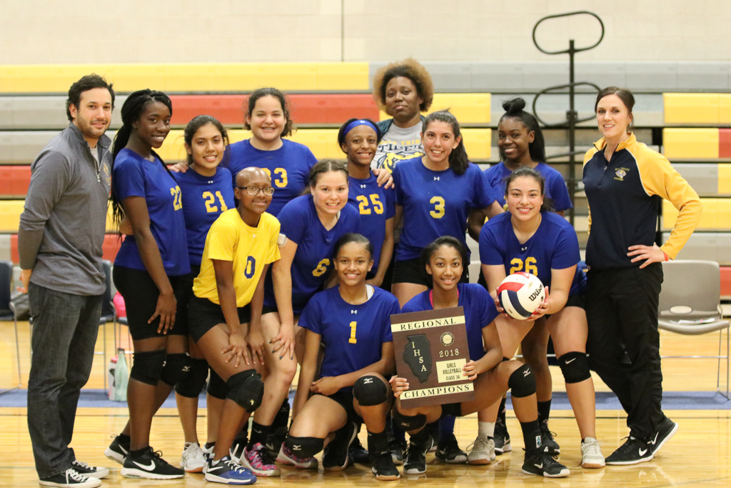 Girls' Volleyball Wins Regionals