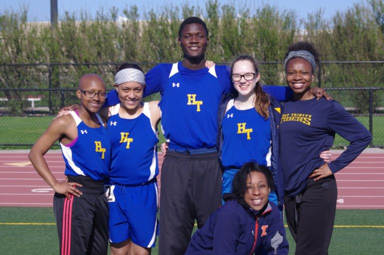 Girls' Track Captures 2nd at Conference Championship