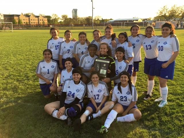 Girls' Soccer Wins First-Ever Regional Title