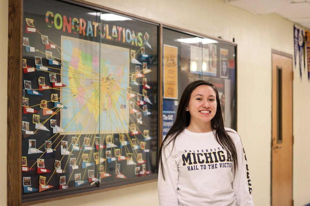 Viviana Quezada '18 Receives Posse Scholarship to University of Michigan