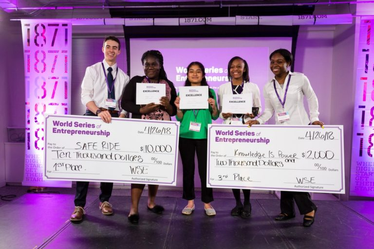HT Students Win $12,750 and Top Awards at World Series of Entrepreneurship