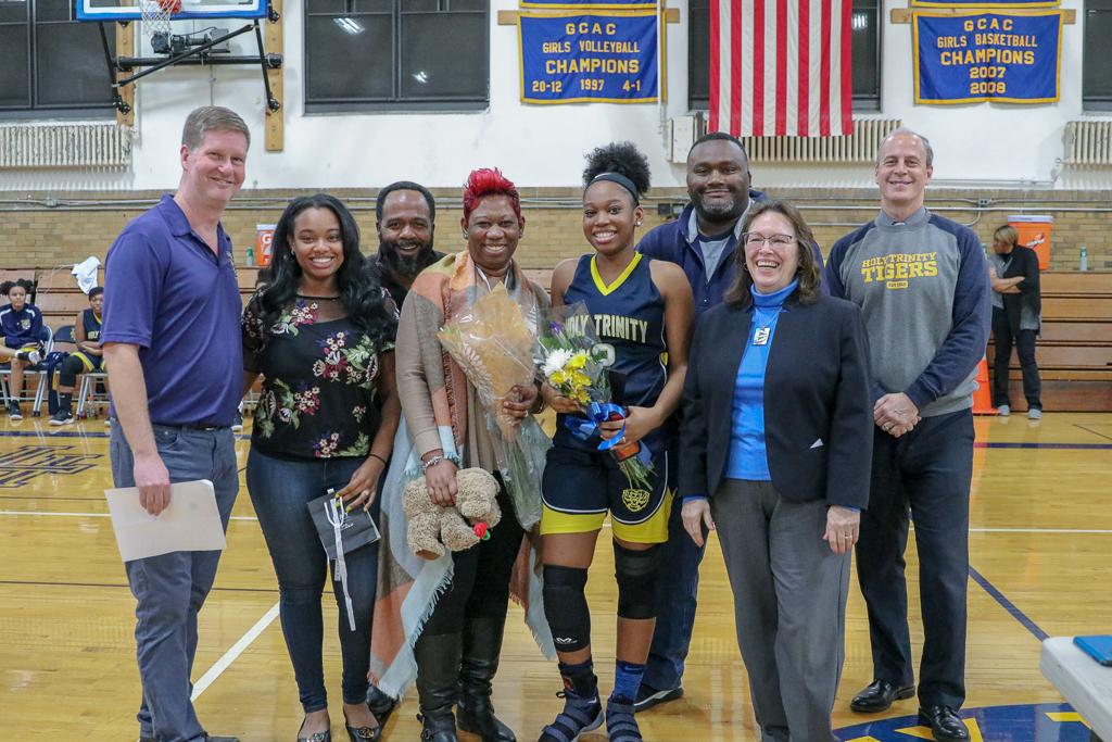Girls' Basketball 2019 Senior Night