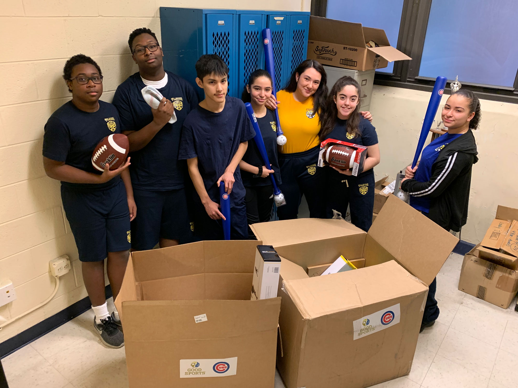 Chicago Cubs, Good Sports Donate to Holy Trinity