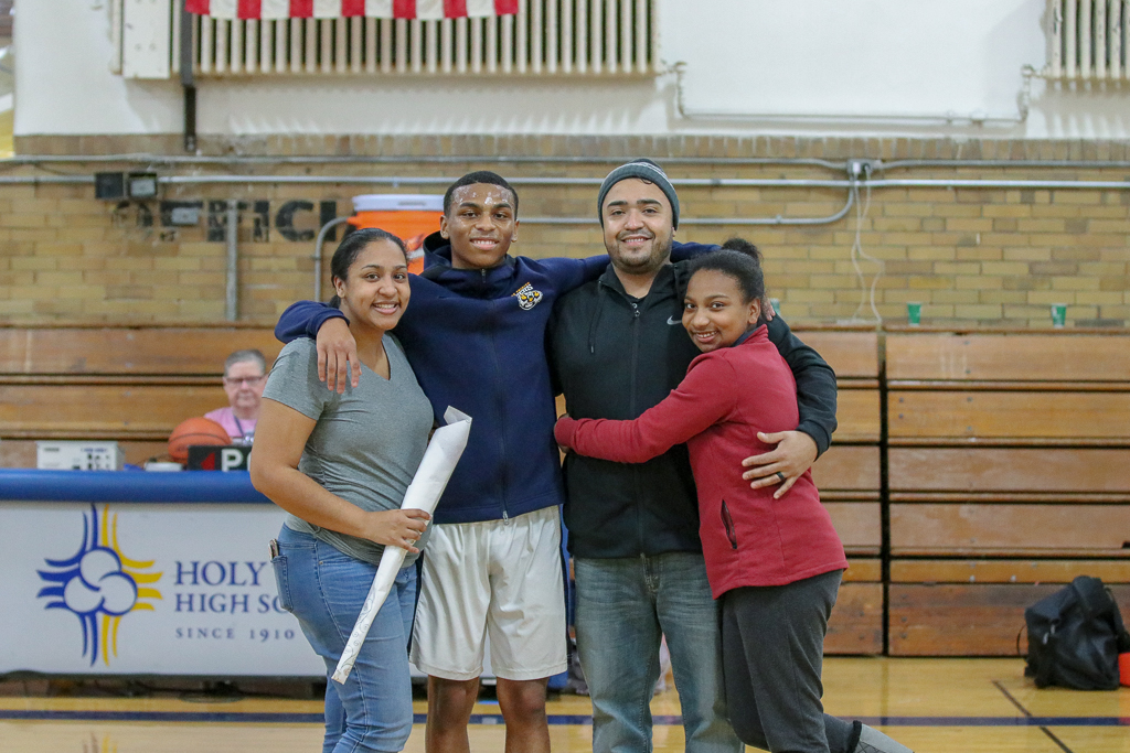 2019 Senior Night – Boys' Basketball & Kickin' Tigers