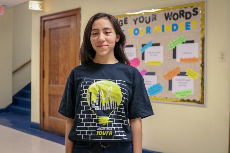 Susi Delgado '21 Named a Chicago Ideas Youth Ambassador