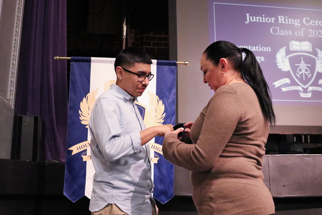 2019 Junior Ring Ceremony Holy Trinity High School