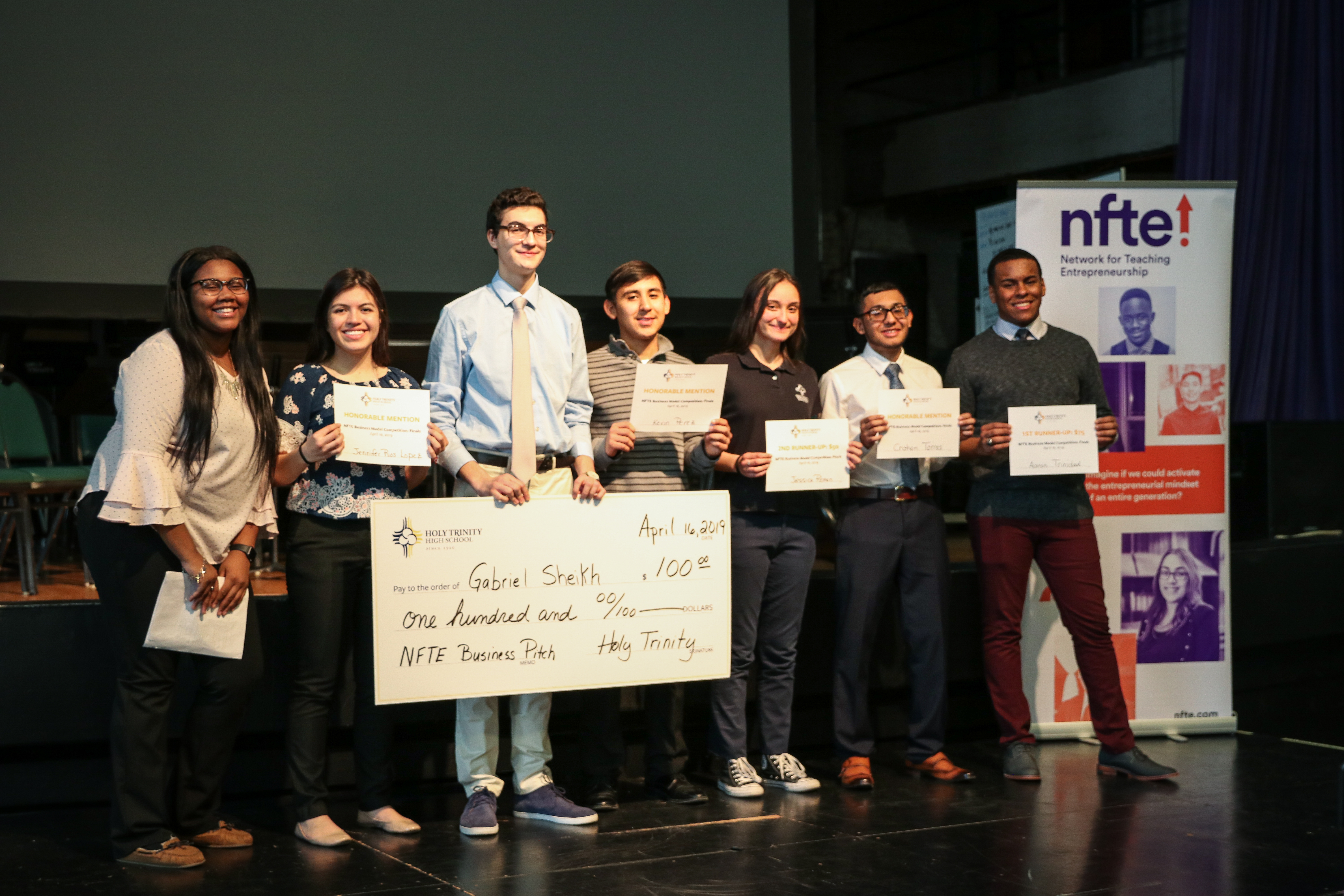 2019 NFTE Business Competition Finals