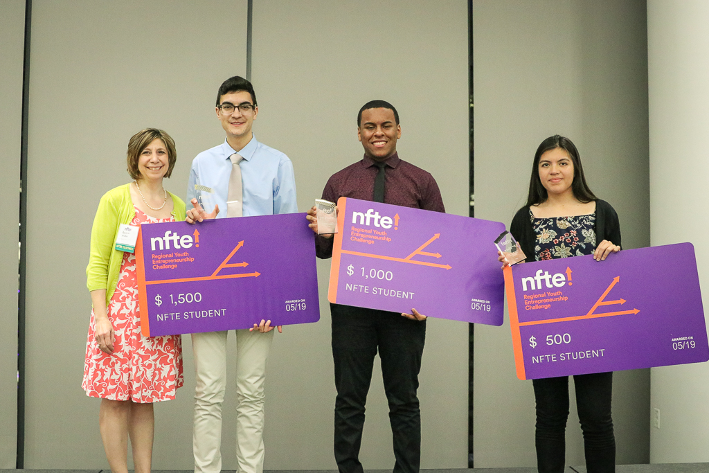 HT Sweeps NFTE Chicago Metro Youth Entrepreneurship Challenge