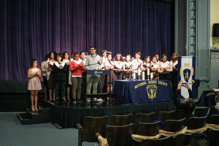 34 New Members Inducted into National Honor Society