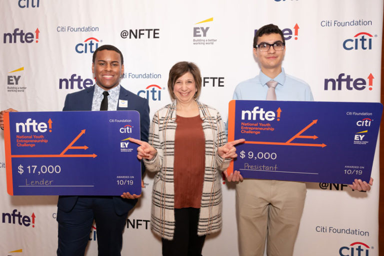 Aaron Trinidad '20 Wins National Youth Entrepreneurship Challenge