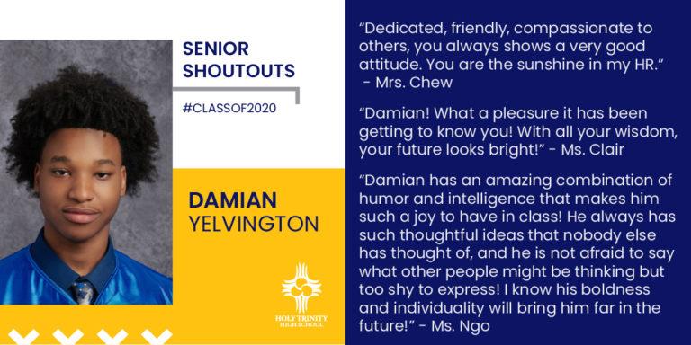 Yelvington, Damian H