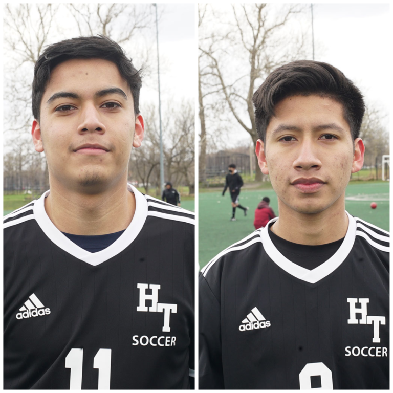 Two HT Seniors named to IHSSCA's All Sectional Boys Soccer Team