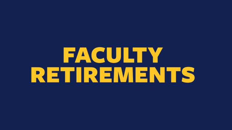 HT announces retirement of three faculty members